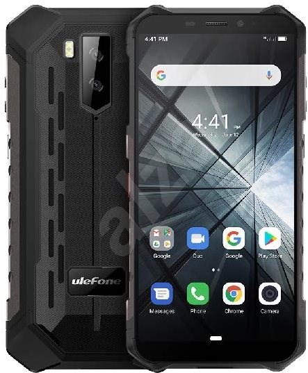 UleFone Armor X3 schwarz Handy |