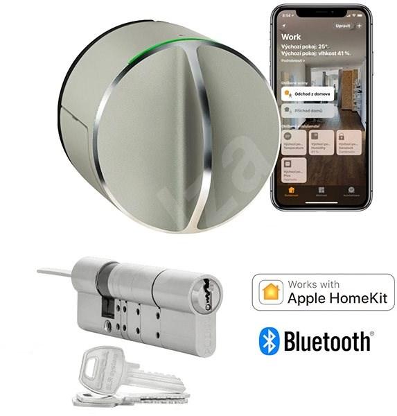 Danalock V3 bietet ein cleveres Schloss mit zylindrischem Einsatz - Bluetooth & Homekit - Smartes Schloss