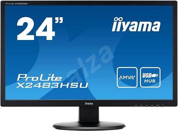 "24"" iiyama ProLite X2483HSU-B2 - LCD Monitor"