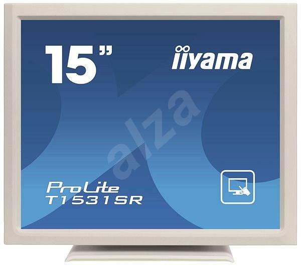 "15"" iiyama ProLite T1531SR-W3 Touchscreen weiß - LCD Monitor"