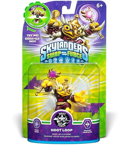 Skylanders: Swap Force (Hoot Loop)  - Spielfigur