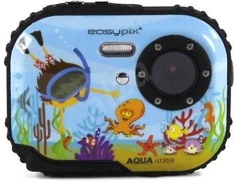 EASYPIX W318 Bubble Bob Blue  - Digital Camera