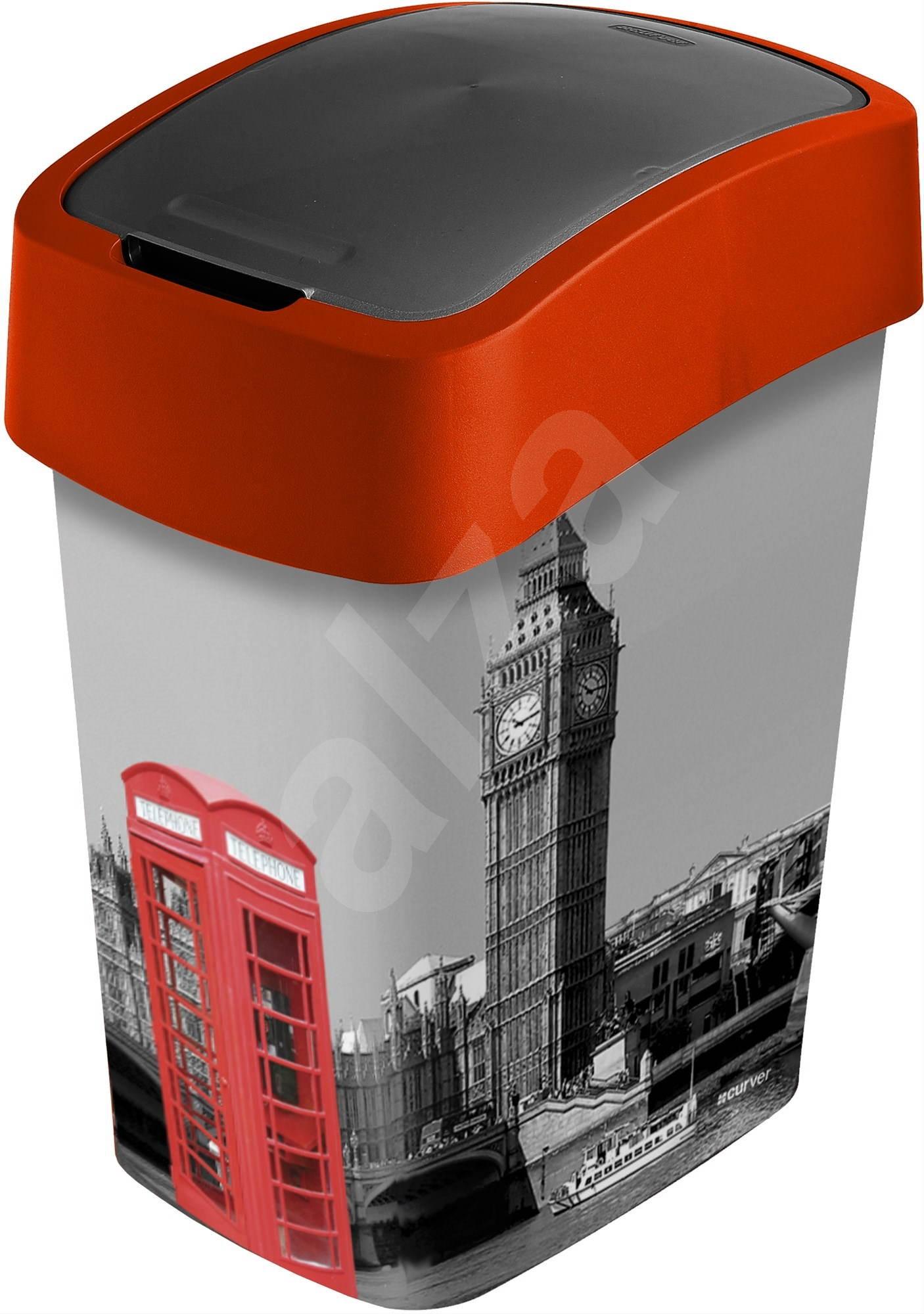 curver m lleimer 25 liter flipbin london abfalleimer. Black Bedroom Furniture Sets. Home Design Ideas