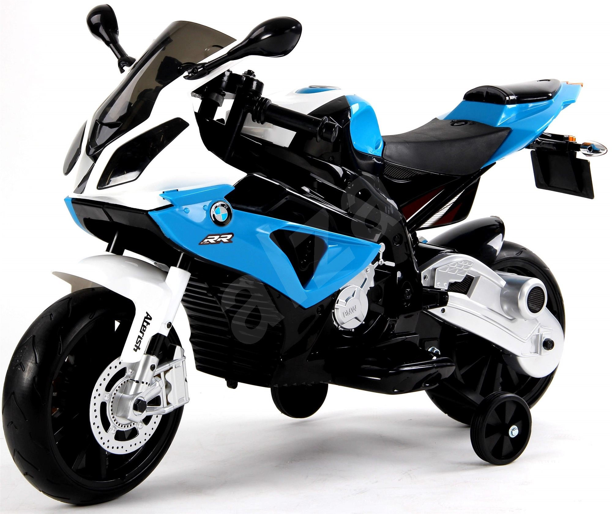 bmw s1000 blau elektromotorrad f r kinder. Black Bedroom Furniture Sets. Home Design Ideas