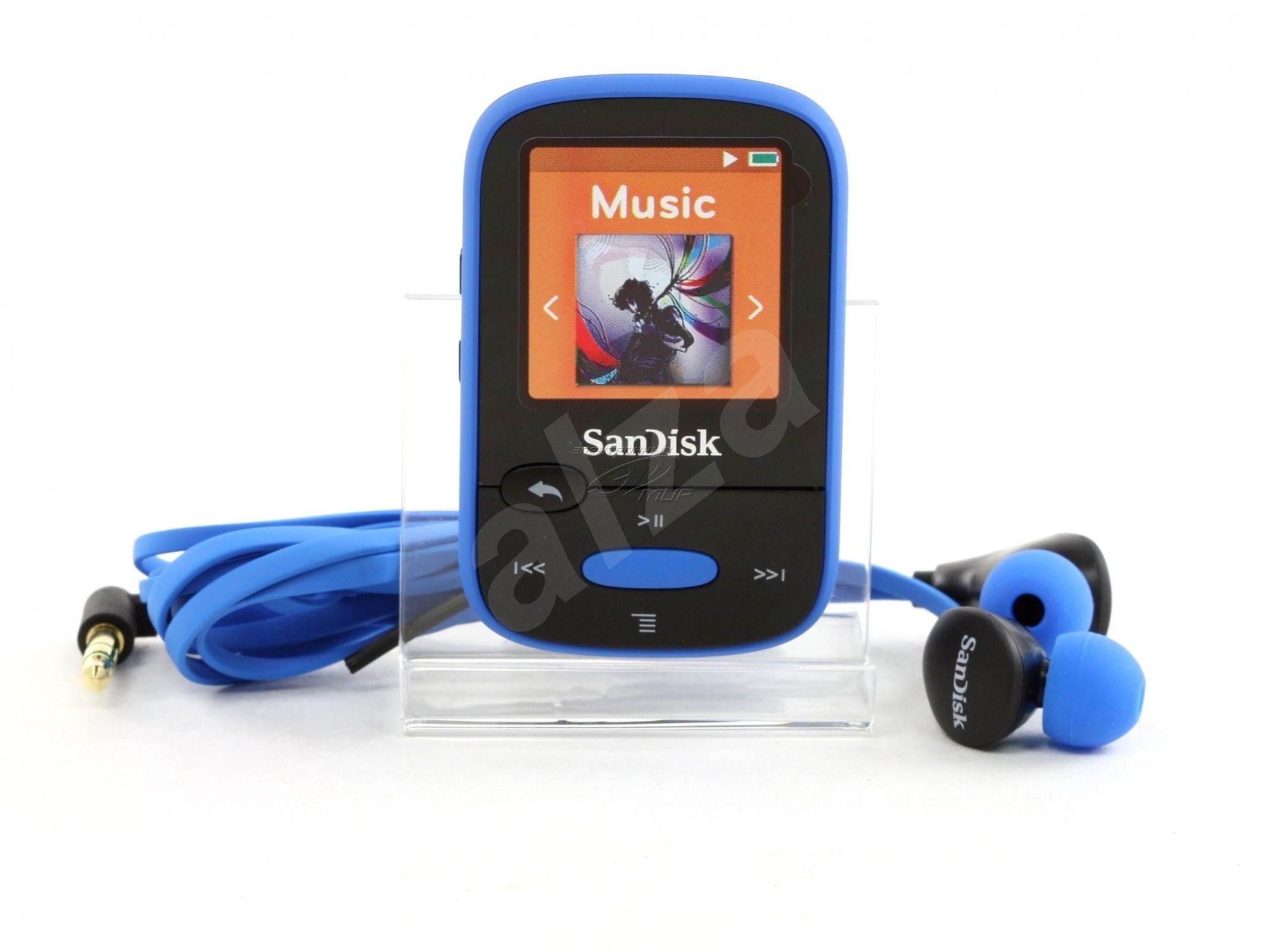 sandisk sansa clip sports 8 gb blau mp3 player. Black Bedroom Furniture Sets. Home Design Ideas