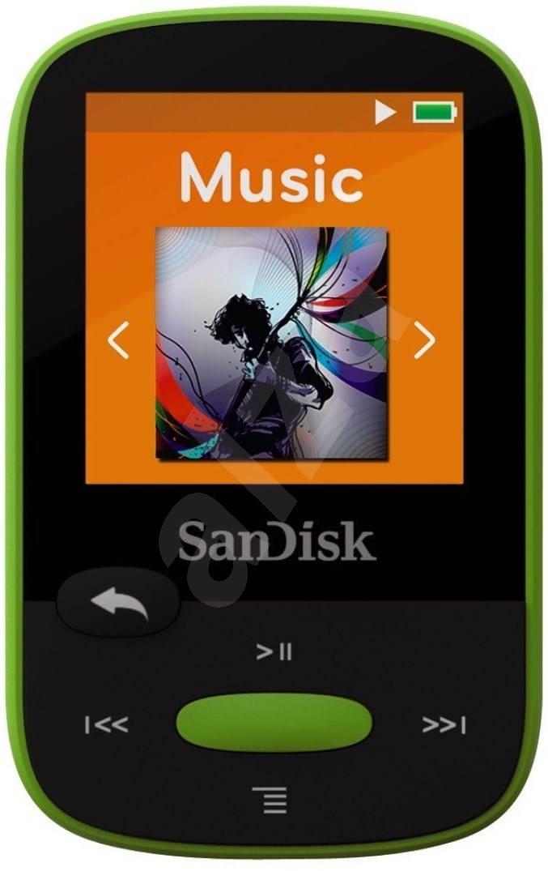 sandisk sansa clip sports 8 gb lime mp3 player. Black Bedroom Furniture Sets. Home Design Ideas