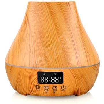 Dituo DT-1523 - hellbraune Naturholzoptik, 400 ml - Aroma Diffuser