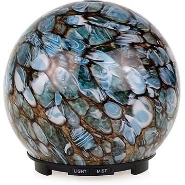 Dituo DT-1822A_2 - Glas-Mosaik-Steinoptik in braun und blau, 200 ml - Aroma Diffuser