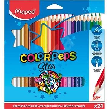 MAPED Color Peps 24 Farben, dreieckig - Bundstifte