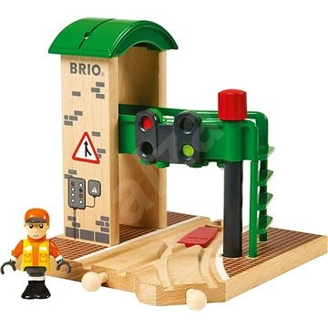 Brio World 33674 Signalstation - Spieleisenbahn-Zubehör