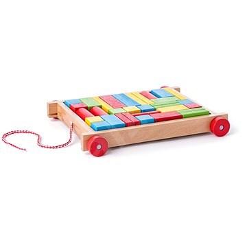 Woody LKW mit kleinen Würfeln - Didaktisches Spielzeug