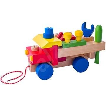 Woody Montagewagen - Didaktisches Spielzeug