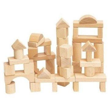 Woody Natur-Würfel - Holzwürfel
