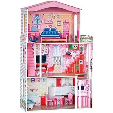 Puppenhaus mit Möbeln - Puppenhaus