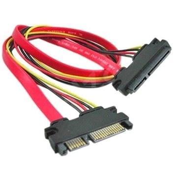 OEM SATA Daten- und Stromkabel 0,5 m - Datenkabel
