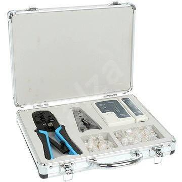 Network Kit, Netzwerktester, Crimpzange 8P + 6P RJ45-Anschlüsse - Set