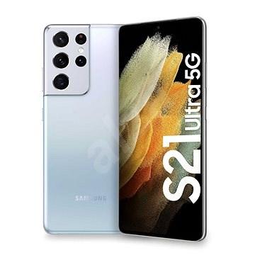 Samsung Galaxy S21 Ultra 5G 256GB Silber - Handy