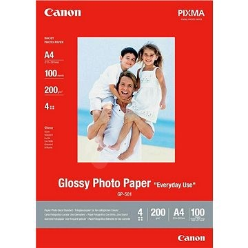 Canon GP-501 A4 Glossy - Fotopapier