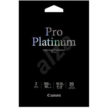 Canon PT-101 10 x 15 Pro Platinum glänzend - Fotopapier